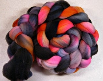 Gloaming merino wool top for spinning and felting (4.2 ounces)