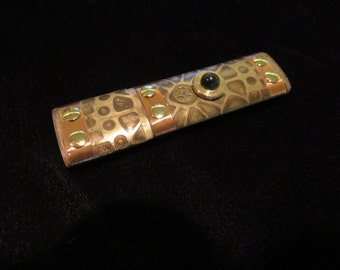 Copper and brass etched Steampunk 16Gb USB 3.0 flash drive