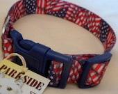 Patriotic Dog Collar