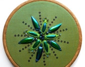 Bejewelled - Beetle wing embroidery kit