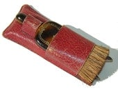 Vintage Edwardian Valet Travel Kit Mens Art Deco Clothing Lint Brush & Folding Hanger Set
