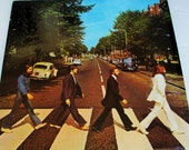 ABBEY ROAD Vinyl, Beatles 1969 Recording, Black Capitol Label Album 1984 Reissue #SJ-383 Original Shrink Wrap, Iconic Cover Art, Exc Condtn