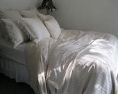 Antique White, Cottage Chic Bedding, Queen Duvet Cover, King Duvet Cover, White Duvet Cover, Duvet Cover King, Duvet Covers