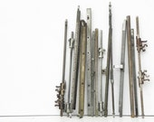 13 salvaged vintage typewriter parts for your assemblage Steampunk project DIY Repurpose Vintage Supply