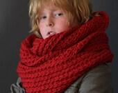 Crochet PATTERN Huntsmen Neck Warmer Crochet Cowl Pattern