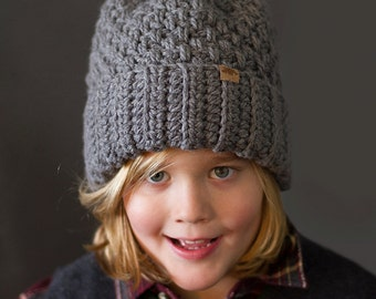 Crochet PATTERN Brighton Alpine Ski Hat Crochet Beanie Pattern ncludes 5 Sizes Newborn, Toddler, Child and Adult