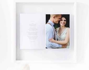 Personalized wedding photo / Wedding photo book / Personalised wedding gift / Gift for wedding