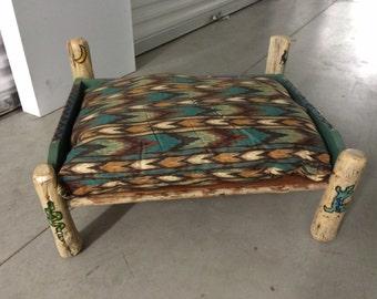 Solid Wood SouthWest Pet Dog Bed