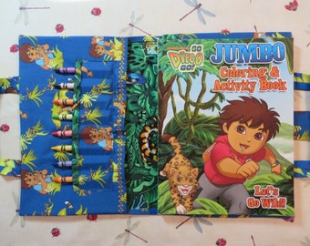 GO DIEGO GO Take Everywhere Coloring Book
