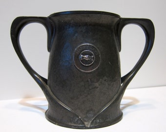 LIBERTY & CO. TUDRIC pewter loving cup Oliver Baker