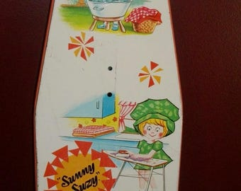 Vintage Sunny Suzy Child's Ironing Board by Wolverine