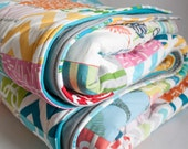 Super Size Playful Patchwork Infant Playmat. Double Padded. Ready to Ship