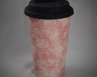 Ceramic Travel Mug/Tumbler with a lid