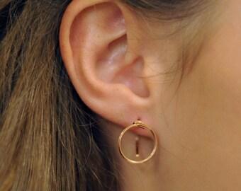 Small O Earring | R15-E2s