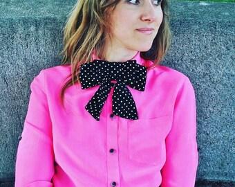 NEW  Bow tie/ Polka dot bow tie/