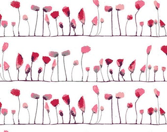 WONDERLAND by Katarina Roccella, Petal Flamingoes Love - AGF  1/2 Yard