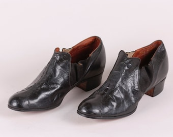 Womens Antique Martha Washington Shoes