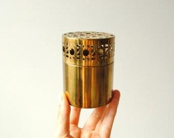 Vintage Brass Potpourri Diffuser