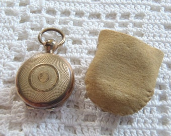 Vintage Locket Photo Holder Small Size