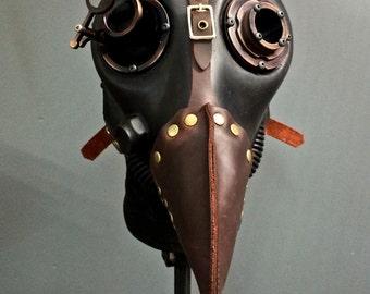 Gas Mask - Plague - Bronze