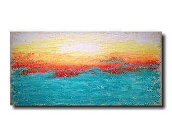 Art painting Jmjartstudio Original Painting 24 X 48 Inches ------- Subtle Changes  -----