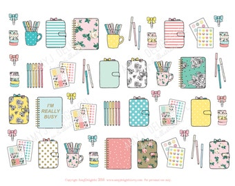 Honey label etsy for Happy planner accessories