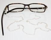 Glasses Chian    White Pearl