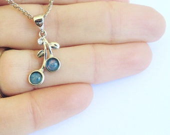 Australian Opal Necklace, October Birthstone