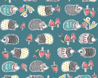 KNIT Organic Cotton Fabric- Monaluna- Anya- HEDGIES - low shipping