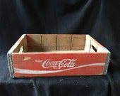 Coca-Cola Wooden Flat/Crate for case of Bottles