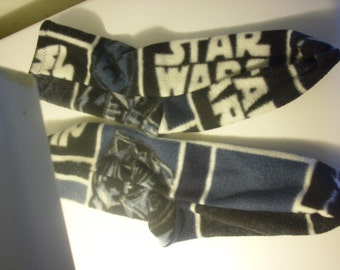 Star Wars fleece socks, warm Christmas socks, snow socks