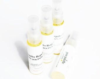 Bug Repellent Spray - Mosquito Repellent / No Se Um Repellent - 100% Natural Ingredients - Mini Spray Bottle Travel Size