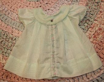 Light green size 6 month dress