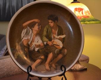 Bartolome Esteban Murillo reproductions 17th century art deco plates
