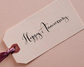 Calligraphy Anniversary  Stamp