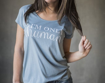 I'm Only Human Alternative Apparel Tee