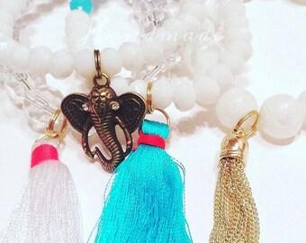 Elephant Charm Bracelet Set