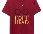 Harry Potter T-shirt Gift, The Original Pott Head Design, The Perfect Gift for the Harry Potter Fan in your life