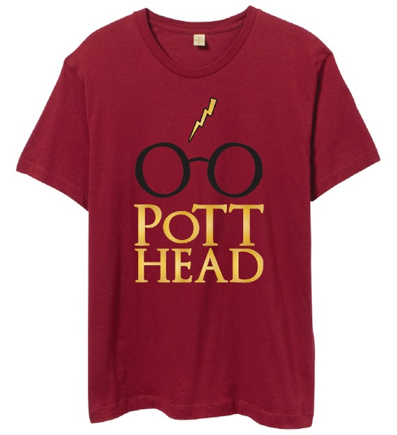 harry potter t shirt gift the original pott head design the. Black Bedroom Furniture Sets. Home Design Ideas