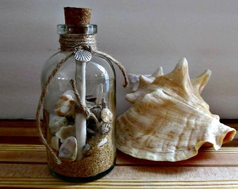 Message In A Bottle - Love Notes, Proposal, Beach Wedding, Nautical, Rustic, Home Decor