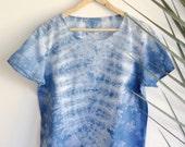 Light Indigo Canyon Womens T-shirt  M/L