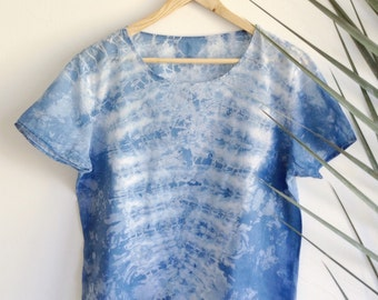 Light Indigo Canyon Womens T-shirt  M/L