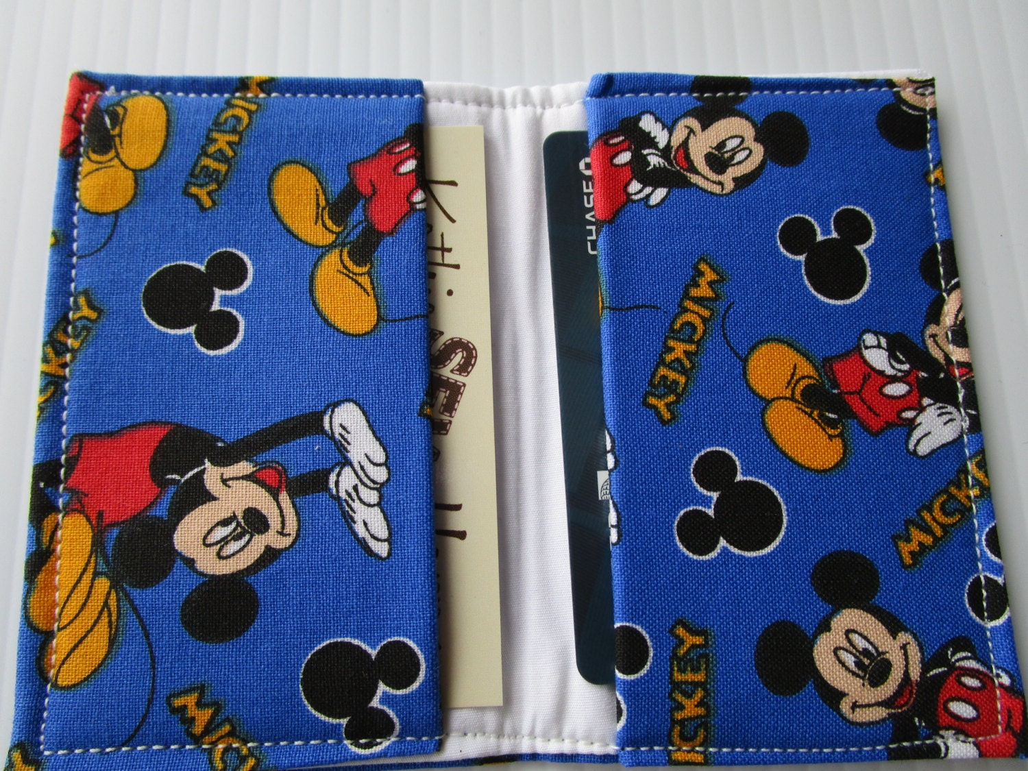 Mickey Mouse Wallet, Disney Pass Holder, Credit Card Wallet ...