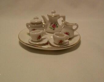 Tea Set, Toy Tea Set, Teaset, Miniature Tea Set