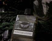 Winter Gypsy Alchemy Natural Perfume Oil  1/2 oz  Juniper, Bergamot, Clove, Cinnamon, Cocoa ,Pear