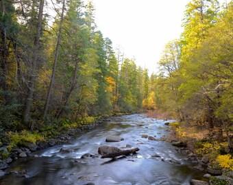 Fine Art Photo Mersed River, Yosemite National Park, California (ID CA2408)