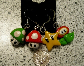 PROMO SALE Super Mario Inspired Multipak Earrings