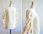 SAMOMAYA handknit avante garde sweater
