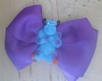 Monsters inc Hairbow