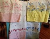 Vintage Printed Pillowcases Cotton Standard Flour sack